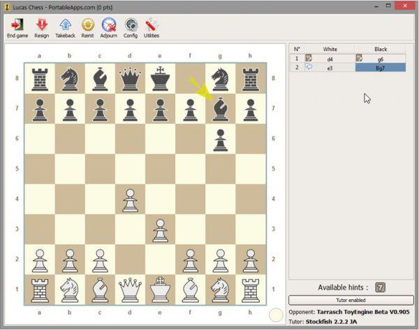Vorschau Lucas Chess Portable - Bild 1