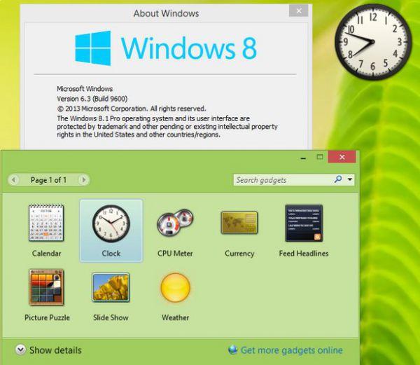 Vorschau Windows Desktop Gadgets - Bild 1