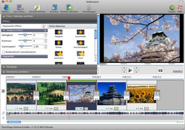 Vorschau Photostage Mac Diashow-Software - Bild 1