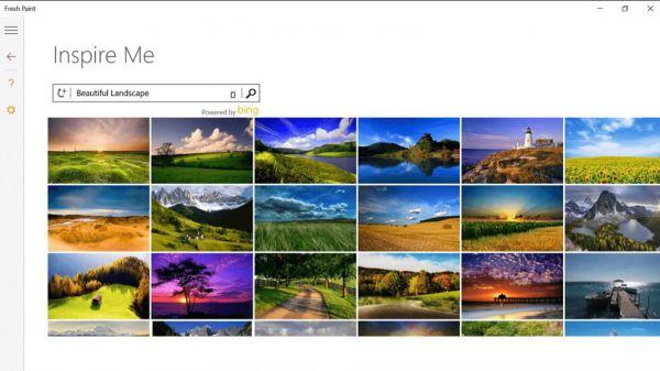 Vorschau Fresh Paint für Windows 8 und 10 - Bild 1