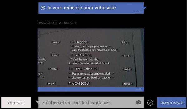 Vorschau Bing Uebersetzer für Windows 8 und 10 - Bild 1
