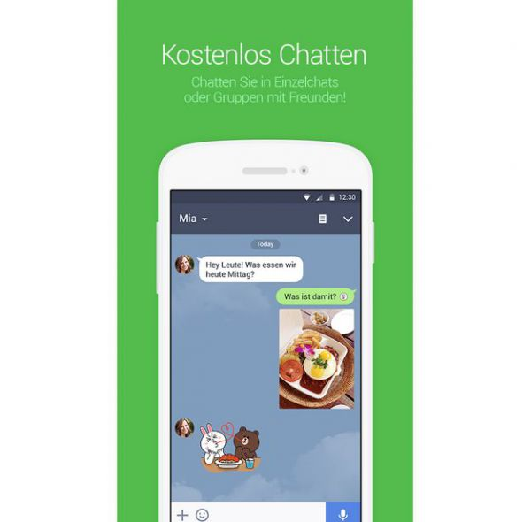 Vorschau Line Messenger für Android - Bild 1
