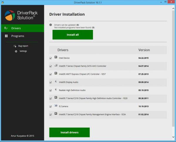 Vorschau DriverPack Solution - Bild 1