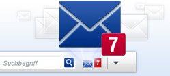 Vorschau GMX MailCheck fuer Internet Explorer - Bild 1