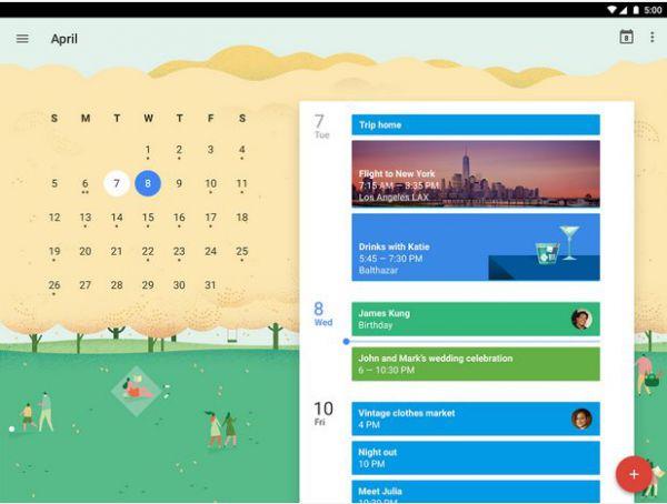 Vorschau Google Kalender fuer Android - Bild 1
