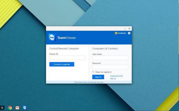 Vorschau TeamViewer für Chrome - Bild 1