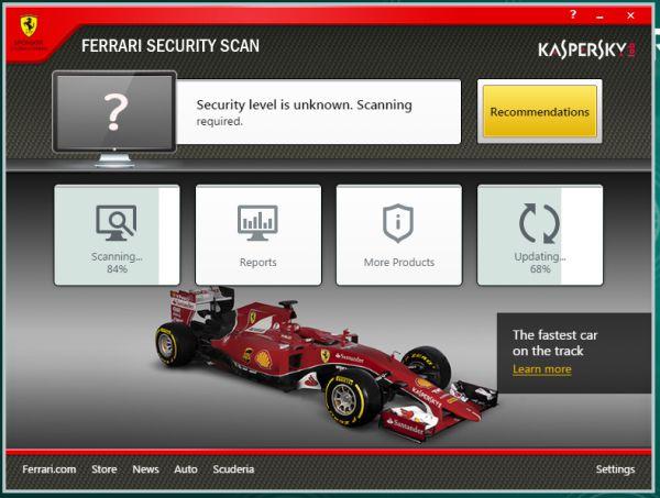 Vorschau Ferrari Security Scan - Bild 1