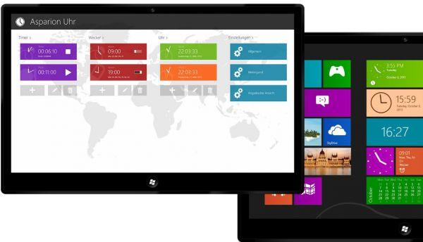 Vorschau Uhr fuer Windows 8 und 10 - Bild 1