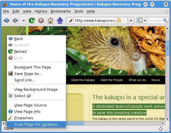 Vorschau Update Scanner für Firefox - Bild 1
