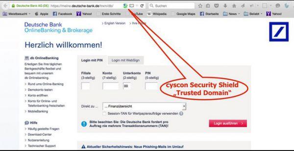 Vorschau Cyscon Security Shield für Firefox - Bild 1