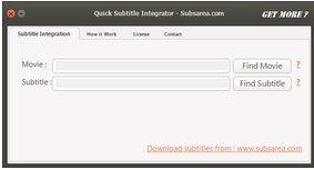 Vorschau Quick Subtitle Integrator - Bild 1