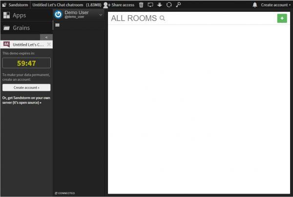 Vorschau Bitnami Lets Chat für Linux - Bild 1