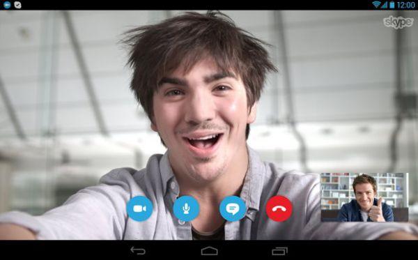 Vorschau Skype für Android - Bild 1
