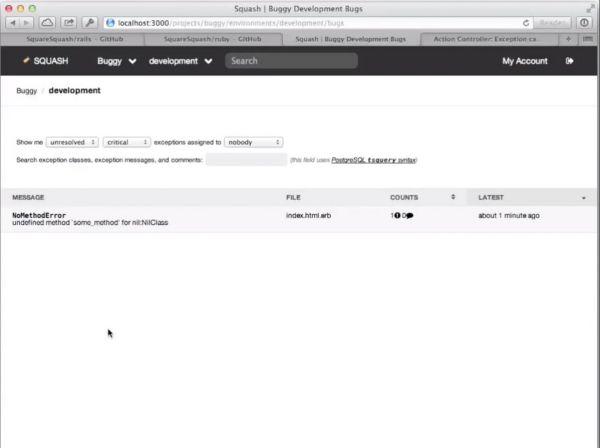 Vorschau Bitnami Squash für Mac - Bild 1