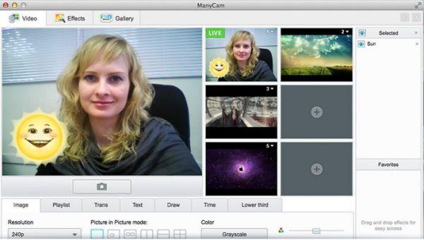 Vorschau ManyCam für Mac OS - Bild 1