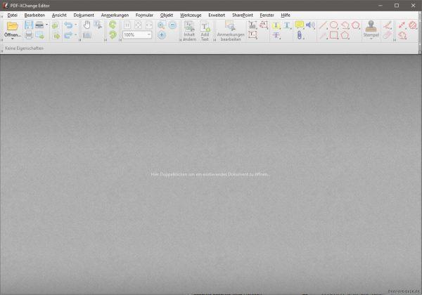 Vorschau PDF-XChange Editor und Portable - Bild 1