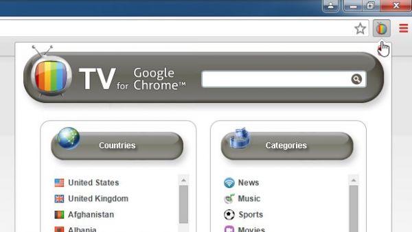 Vorschau TV für Chrome - Bild 1