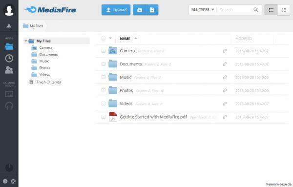 Vorschau MediaFire Desktop - Bild 1
