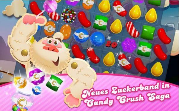 Vorschau Candy Crush Saga für Android - Bild 1
