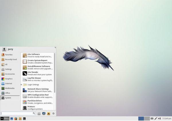 Vorschau Linux Lite - Bild 1