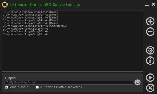 Vorschau Ultimate M4a to MP3 Converter - Bild 1