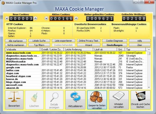 Vorschau MAXA Cookie Manager Standard - Bild 1