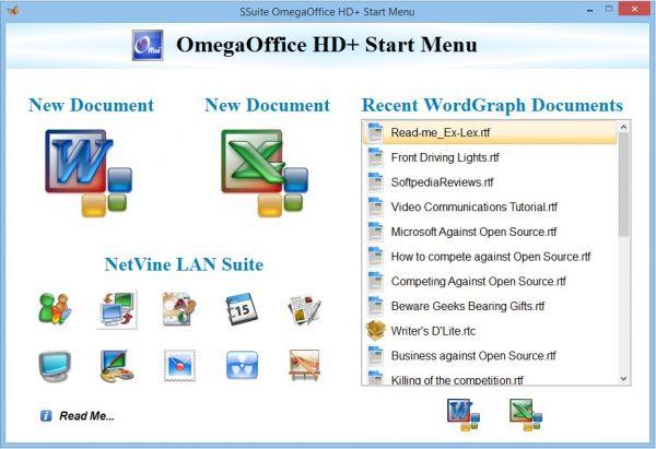 Vorschau SSuite OmegaOffice HD+ - Bild 1