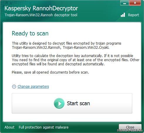 Vorschau Kaspersky Rannoh Decryptor - Bild 1