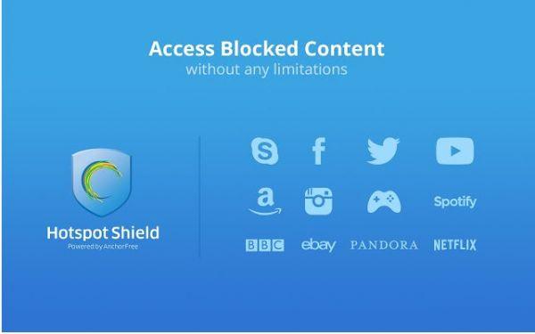 Vorschau Hotspot Shield für Chrome - Bild 1