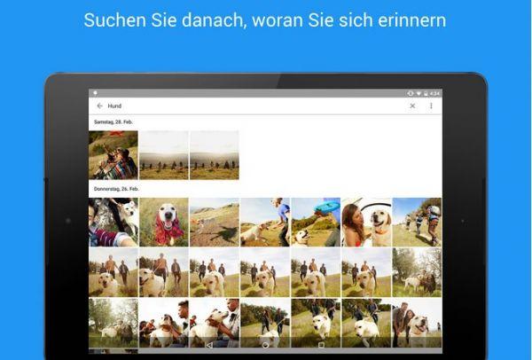 Vorschau Google Fotos für Android - Bild 1