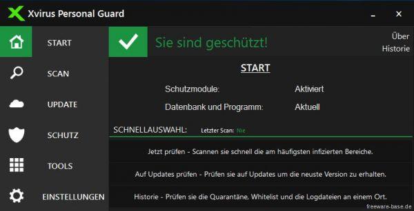 Vorschau Xvirus Personal Guard - Bild 1
