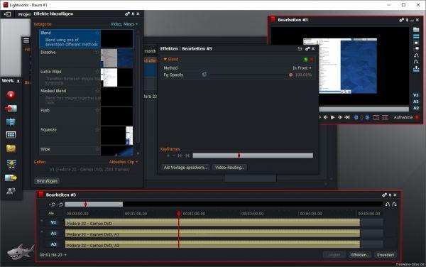 Vorschau Lightworks für Linux - Videobearbeitung - Bild 1
