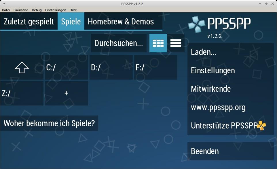 Vorschau PPSSPP - PSP Emulator - Bild 1