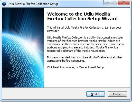Vorschau UtiluMFC - Utilu Mozilla Firefox Collection - Bild 1