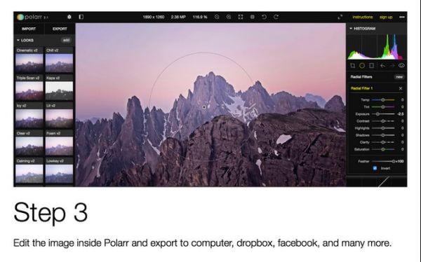Vorschau Polarr für Firefox - Bild 1