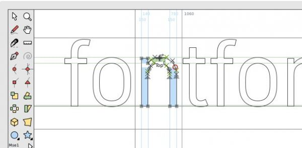 Vorschau FontForge - Font Editor - Bild 1