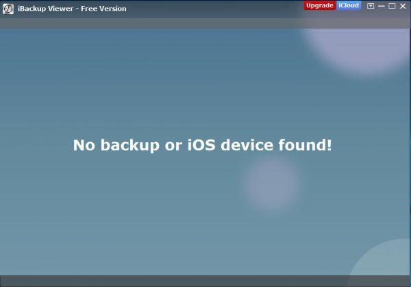 Vorschau iBackup Viewer - Bild 1