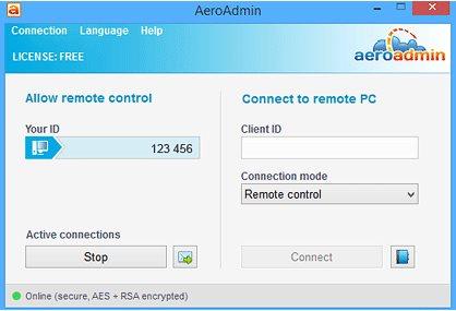 Vorschau AeroAdmin - Bild 1