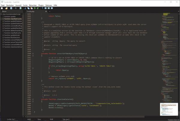 Vorschau CudaText - Text Editor - Bild 1