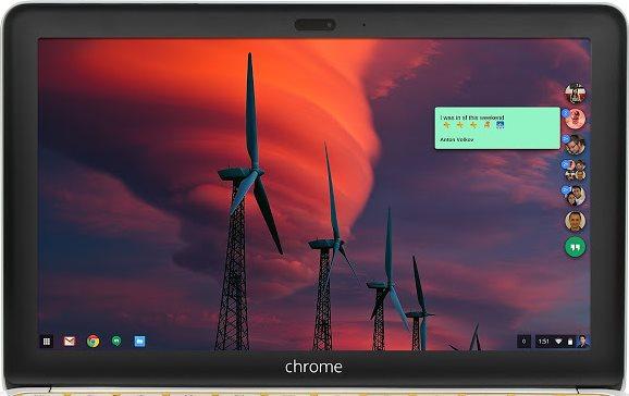 Vorschau Hangouts Chrome Desktop - Bild 1