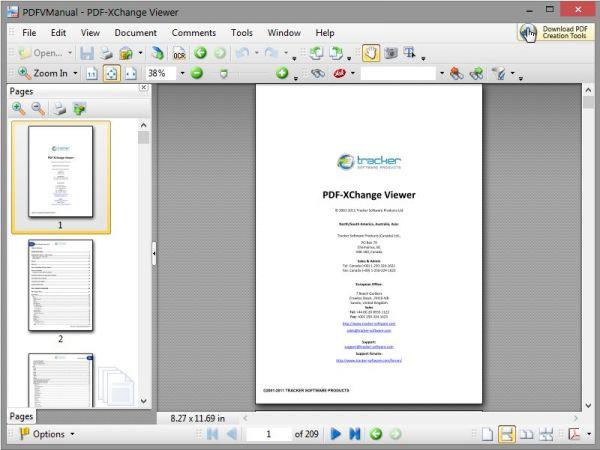 Vorschau PDF-XChange Viewer Portable - Bild 1