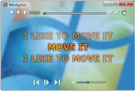 Vorschau MiniLyrics - Bild 1