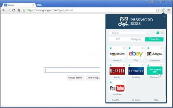 Vorschau Password Boss für Chrome - Bild 1