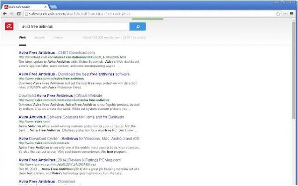 Vorschau Avira Browserschutz für Chrome - Bild 1