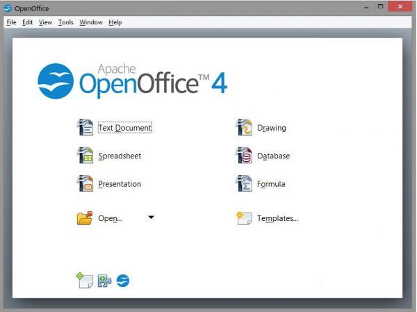 Vorschau Apache OpenOffice Portable - Bild 1
