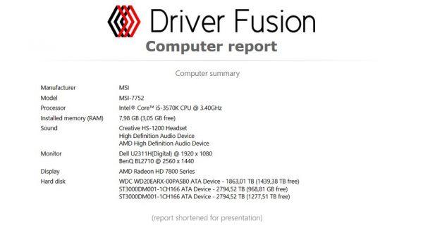 Vorschau Driver Fusion - Bild 1