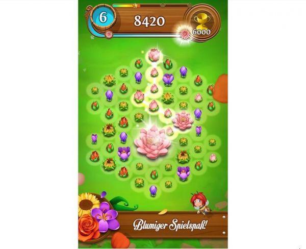 Vorschau Blossom Blast Saga für Android - Bild 1