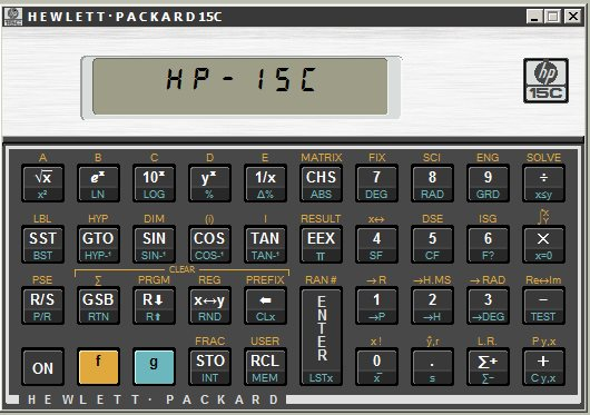 Vorschau HP-15C Simulator - Bild 1