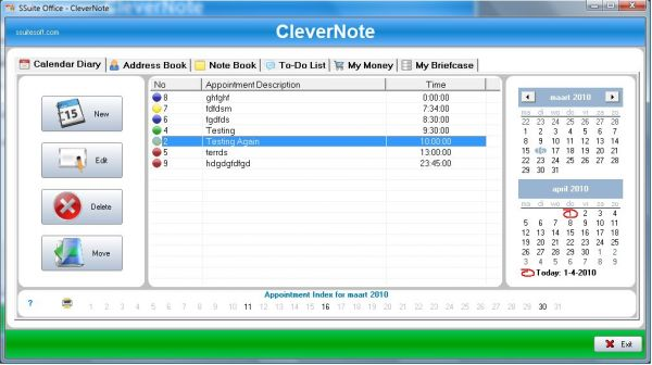 Vorschau SSuite CleverNote PIM - Bild 1