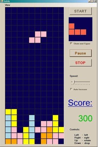 Vorschau Simple Tetris - Bild 1